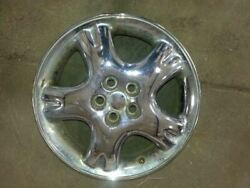 Wheel Aluminum 16x6 5 Spoke With Dimples Chrome Fits 01-02 Pt Cruiser 1029397