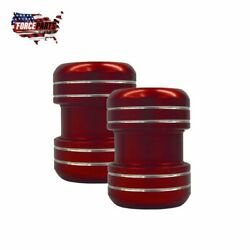 Exhaust Pipe Clamps Yamaha Banshee 350 Red