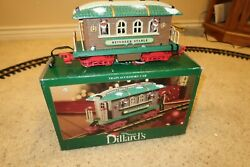 New Bright Holiday Express Brown Animated Reindeer Stable Car W Box Dillards Htf