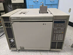 Hp 5890 Gas Chromatograph Fpd And Integrator