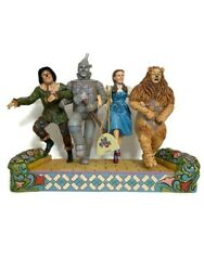 Nwt Jim Shore Wizard Of Oz 75th Anniversary On Our Way To See The Wizard 4037528