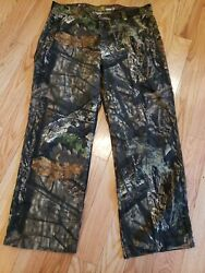 Real Tree Camouflage Work Pants Mens 36 X 30 Relaxed Fit Cotton Blend
