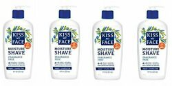 Kiss My Face Moisture Shave Shaving Cream, Olive And Aloe Fragrance Free Soap Fo