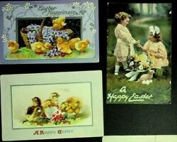 28 Antique Easter Post Cards And Tuck Published Post Cards 214