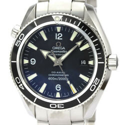 Polished Omega Seamaster Planet Ocean Steel Automatic Watch 2201.50 Bf531331