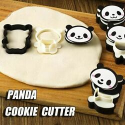 Sandwich Chocolate Decoration Panda Shape Tools Cookie Cutter Biscuit Mold