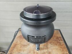 Tomlinson Deluxe 12 Qt Frontier Soup Kettle Warmer Black From Canada
