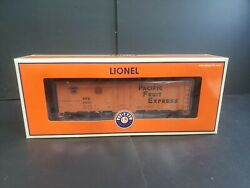 Lionel 6-17352 Pacific Fruit Express Up And Sp 40ft Refrigerator Car Nib S.37