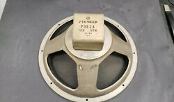 1960' Pioneer P382a 15 Speaker 16 Ohms 50w Guitar Amplifier Teisc0 Checkmate