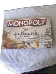 Hallmark Channel Monopoly Usaopoly Family Holiday Christmas Board Game 2019 New