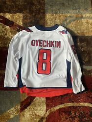 2018 Stanley Cup Washington Capitals Ovechkin Jersey