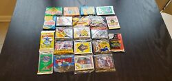 Huge Lot - 190+ Vintage Baseball Cards From Unopened Wax And Rack Packs