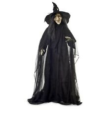 """Halloween Prop Lifelike Life Size Realistic 75"""" Tall Wicked Witch Prop Gr J17"""