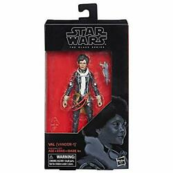 Han Solo / Star Wars Story Black Series 6 Inch Action Figure Val / Hasbro Solo