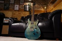 Paul Reed Smith Prs Ce Maple 24 Royal Blue 1997 Electric Guitar With Hard Case