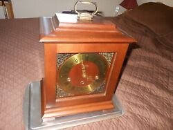 Vintage Welby Elgin Westminster Chime Mantel Clock Made In Germany