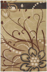 Surya Ath-5006 Athena Transitional Hand Tufted - Wool Gold Area Rugs