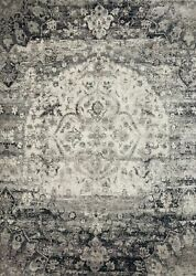 Loloi Anastasia 9and039-6 X 9and039-6 Rug In Ink And Ivory Finish Anasaf-06ikiv960r