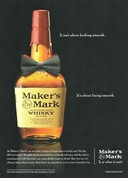 Makers Mark Kentucky Bourbon Whisky - 2011 Collectible Print Advertising Page