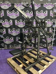 Hammer Strength Plate Loaded Iso Behind The Neck Pulldown - Buyer Pays Shipping