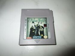 Vintage Nintendo Gameboy Game Pair - Addams Family/alley Way - Pre-owned