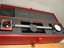 Starrett No. 659a Heavy Duty Magnetic Base With 25-441 Dial Indicator And Box