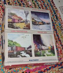 Walthers Train Model Work Set 1 Old Store Stock Mint 932-85