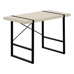 Monarch Modern Computer Desk With Taupe Finish I 7659