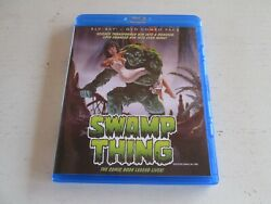 Swamp Thing Blu-ray/dvd, 2013, 2-disc Set. Mint And Complete. Scream Factory.