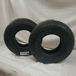 Aviatior 008-644-0 Tire 12 Ply 18 X6.5-8 Tubeless Type Viii-lot Of 2 Tires