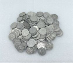Franklin Half Dollars Lot Of 90 Silver Approximately 1286 Dwt