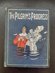 The Pilgrim's Progress By Bunyan, John With Color Illustrations Early 1900s