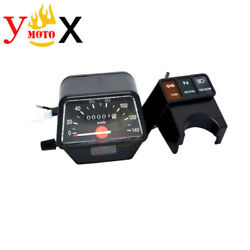 Motorcycle Speedometer Instrument Assembly Odometer Gauges For Yamaha Xt225