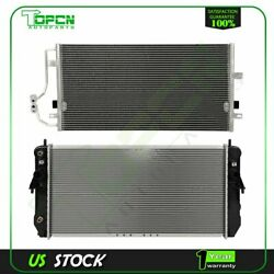 Fits 2001-2003 Oldsmobile Aurora Replacement Radiator And Condenser Assembly