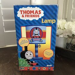 """New Blue Thomas The Train Night Light Table And Shade 11.25"""" Octagon Base"""