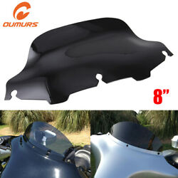 8 Windshield Windscreen Fairing For Harley Touring Electra Street Glide Ultra