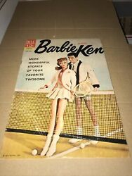 1963 Barbie And Ken Volume 1 4, Silver Age Barbie Doll Comic Vf Or Better