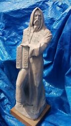 Beautiful Vintage Large 22.5 Austin Prod 1980 Moses Sculpture Free Shipping