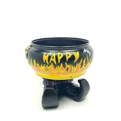 Talking Vintage Gemmy Animated Witch Halloween Candy Dish Motion Activated Bowl
