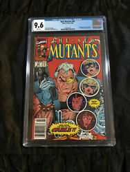 Marvel 1990 Newstand Edition New Mutants 87 Cgc 9.6 Nm+ 1st Appearance Of Cable