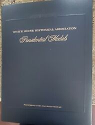 Set Of 36 Presidential Silver Medals White House Historical Association W/ Coa