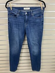 Gap 1969 Gap For Good Womens 29r Real Straight Blue Jeans 29x29