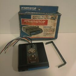 Never Used Powerstop Electronic Solid State Brake Control Trailers Model 500-ps