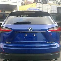 Trunk/hatch/tailgate Privacy Tint Glass Fits 15-17 Lexus Nx200t 600238