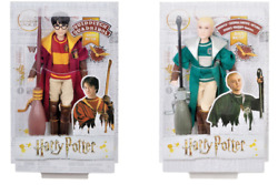 New In Packs U Get Both Harry Potter And Draco Malfoy Quidditch Collectable Dolls