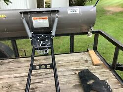 """Kfi Open Trail 60"""" Utv Snow Plow With Universal Mount New Never Used"""