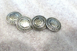 Antique Sterling Art Deco Menand039s Cuff Links Steling By G.c.h.and Co. Cuff Links