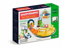 Magformers Sky Track Play Set, 44-pc