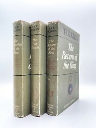 The Lord Of The Rings - Second Edition - Early Issue - Tolkien 1954 Hobbit First