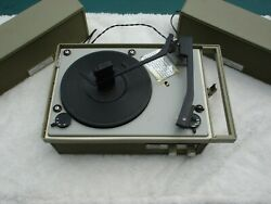 Vintage Arvin Portable Stereo Record Changer Works Great